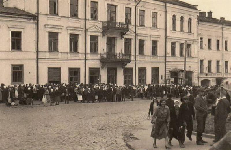 Улица Толстого. 1941 год