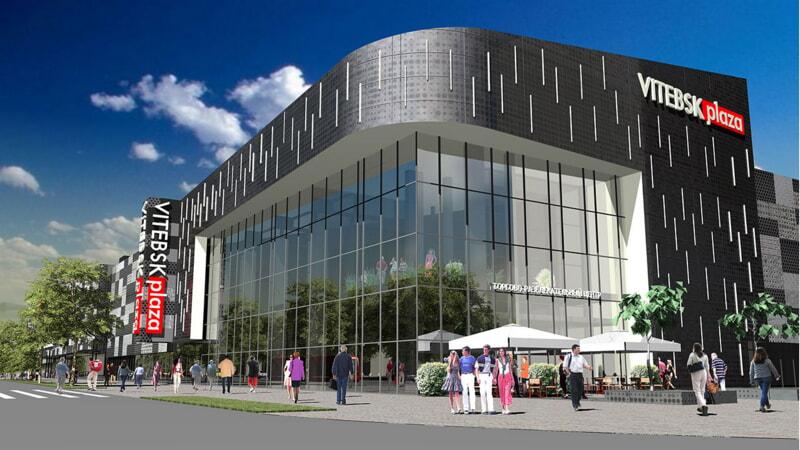 Новый ТЦ скоро появится в Витебске