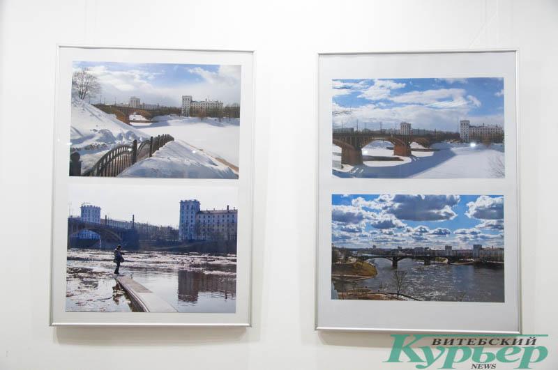 четыре фотографии с выставки в краеведческом музее
