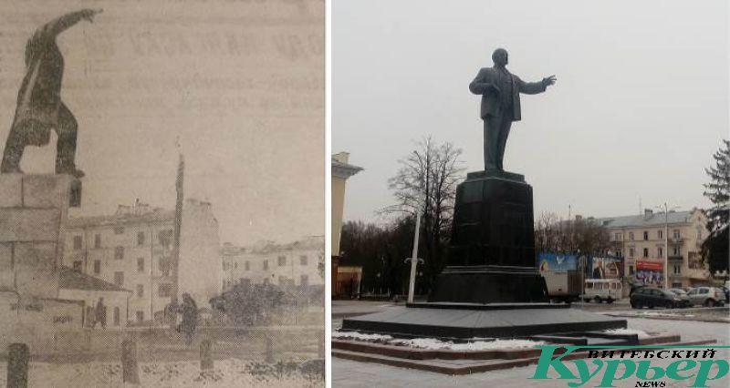 Площадь Ленина в 1931 году и сейчас