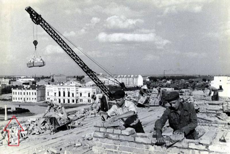 1951 год. Застройка улицы Урицкого