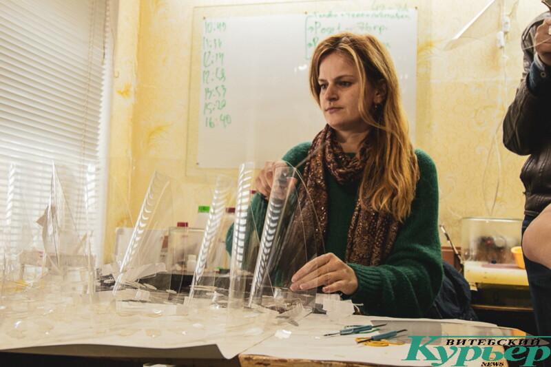 Волонтёры помогают врачам Витебска