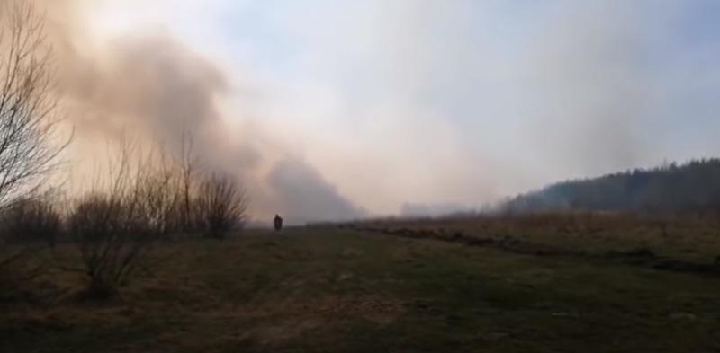 пожар в чернобыле ГСЧС