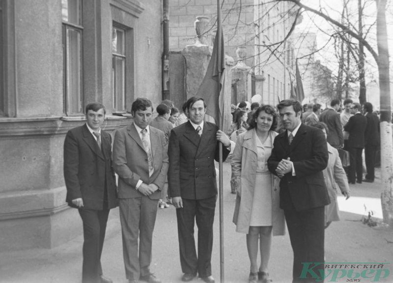 1 мая 1975 года на Комсомольской улице