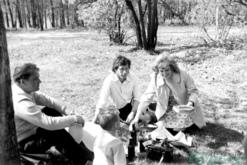 1975 год. Маевка на природе
