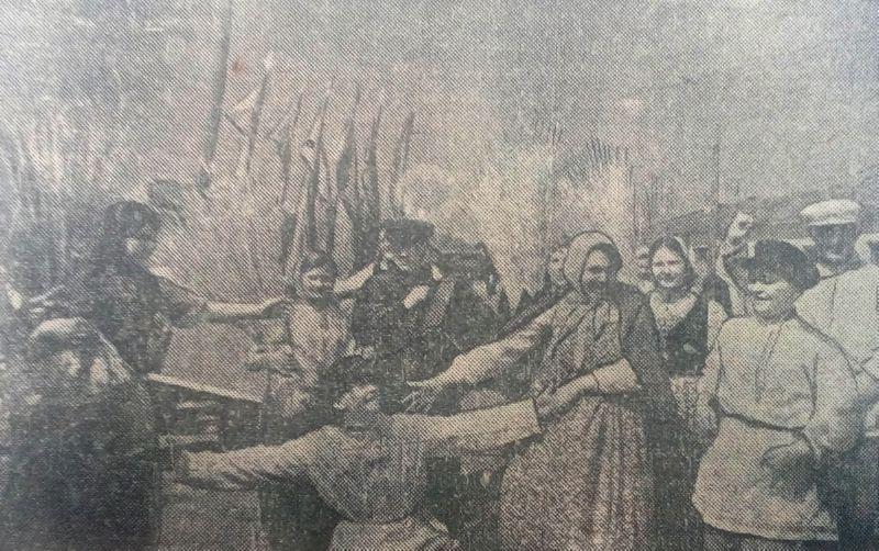 1940 год. Первомайские гулянья в Витебске