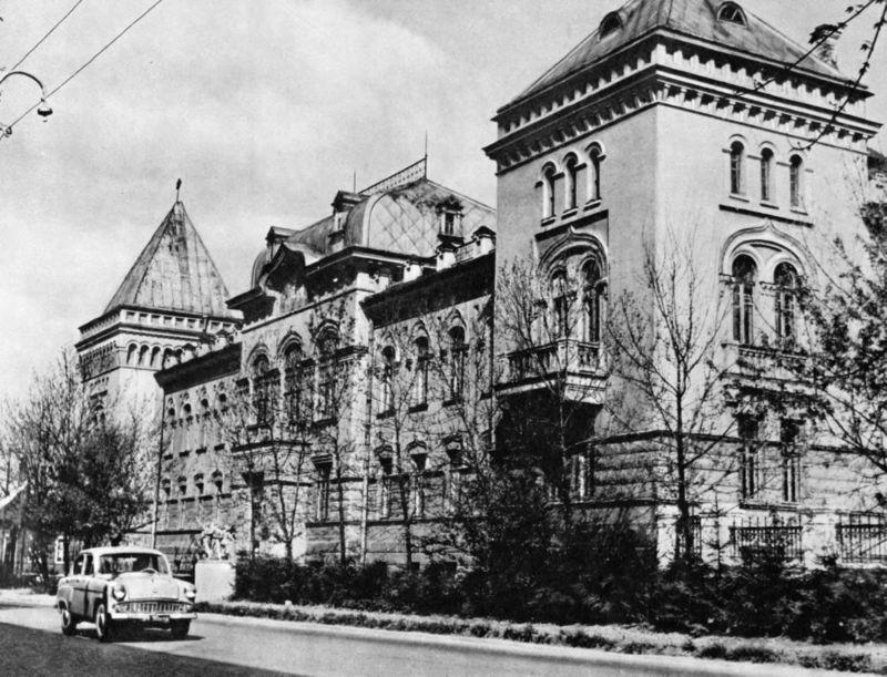 Ветеринарный институт в 1966 году