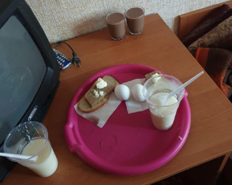 Завтрак для двоих студентов