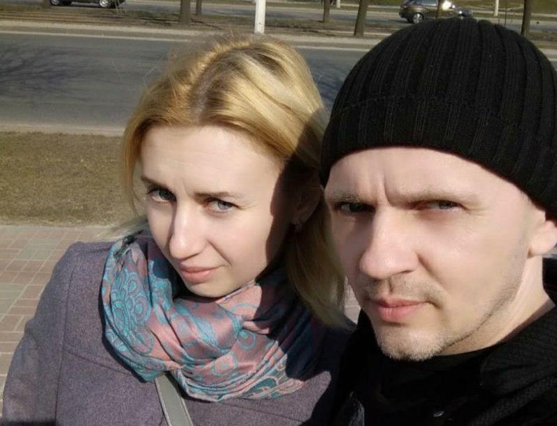 Сергей Луцко с женой Юлией