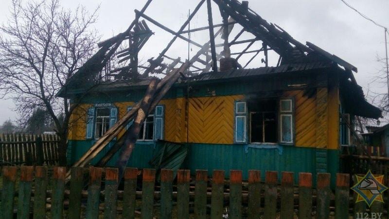 Смерть от пожара в Докшицком районе