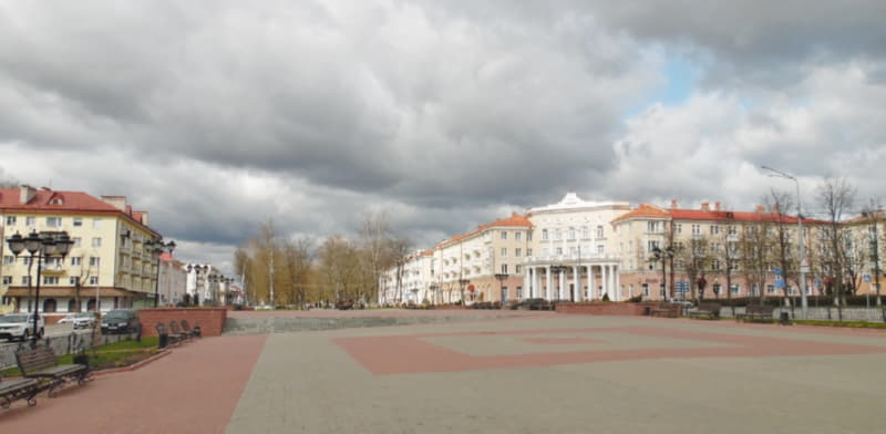 Полоцк на следующий день после Пасхи