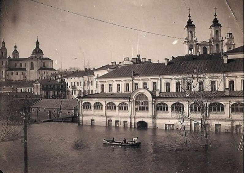 1931 год. Затопленная гостиница Брози