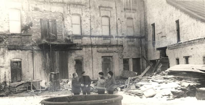Бывшая махорочная фабрика в Витебске
