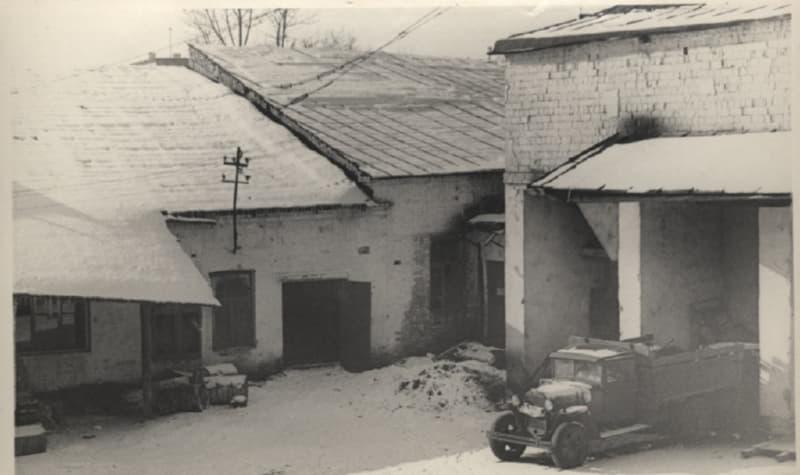 Здание махорочной фабрики в 1970-е годы