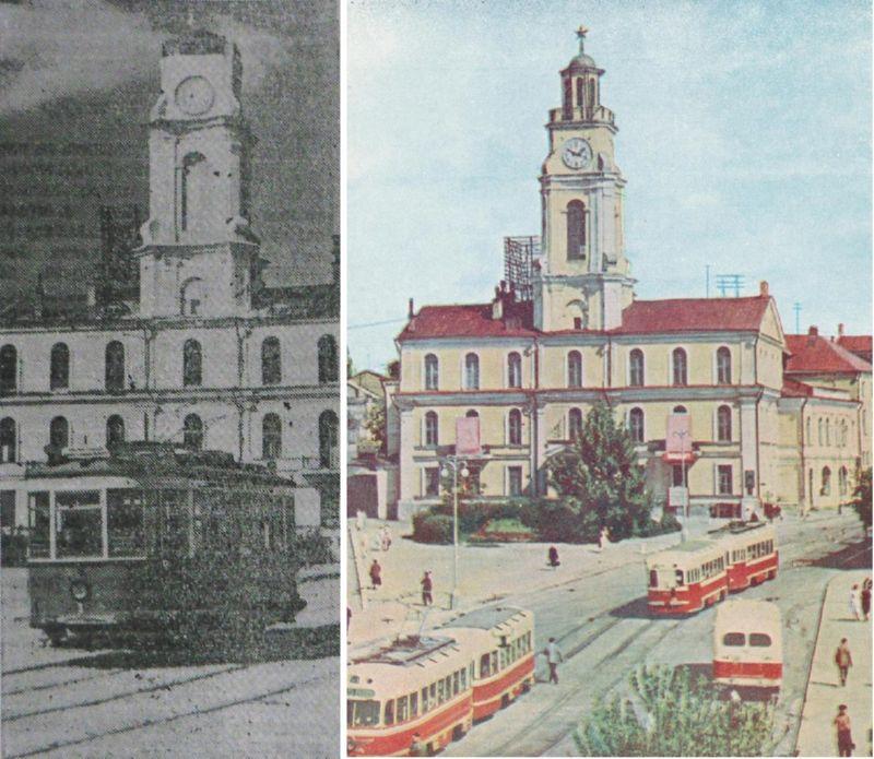 Трамвай у ратуши