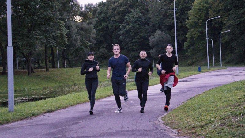 Бег в команде Sun Run Vitebsk