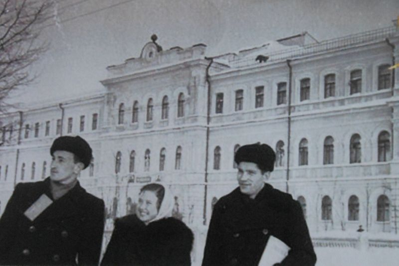 1950-е годы. Пединститут на Пушкинской