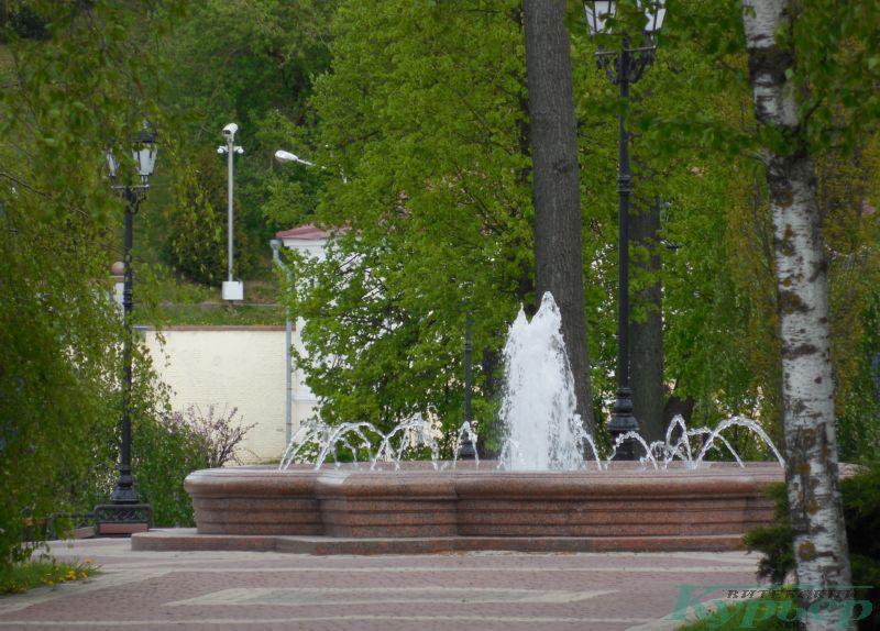 Фонтан на улице Пушкина