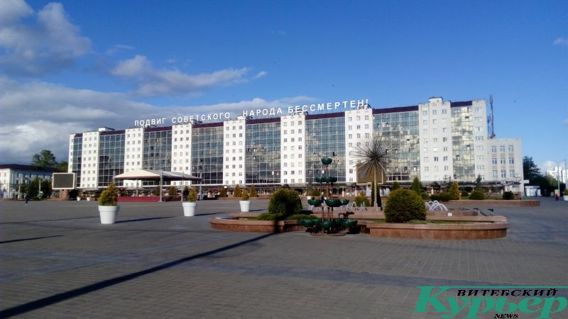 На месте сквера на площади Победы