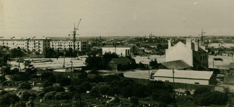 Площадь Победы в конце 1950-х годов