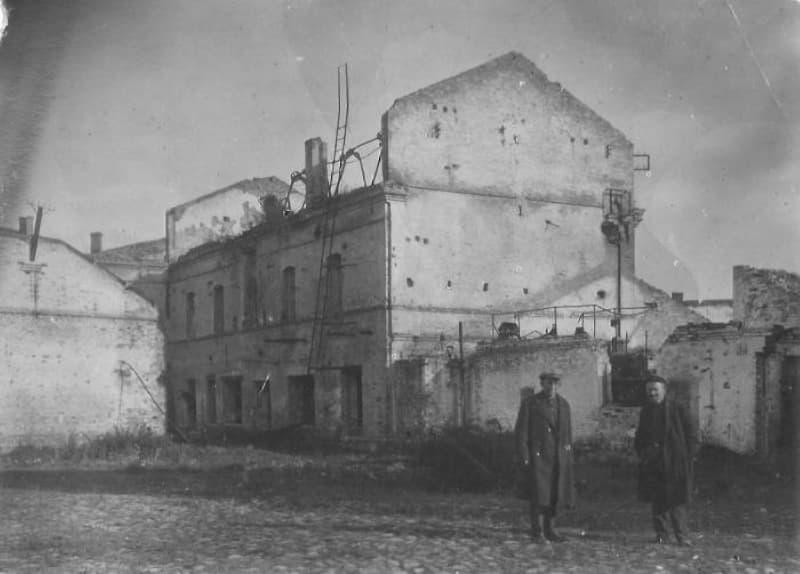 Махорочная фабрика в Витебске после войны