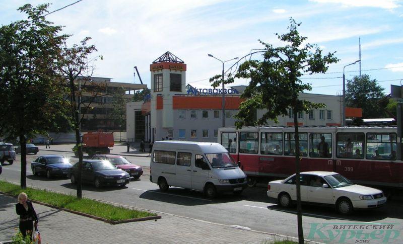 2008 год. Трамвай у автовокзала