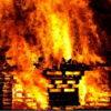 В Витебской области во время пожара погибла женщина