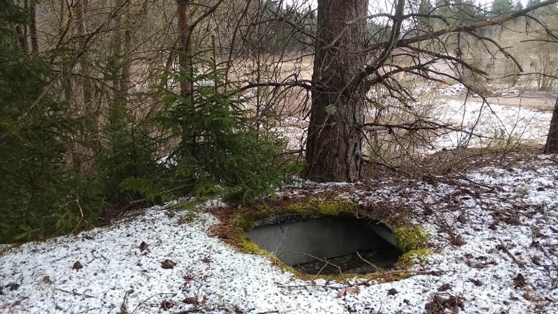 колодец старого бункера