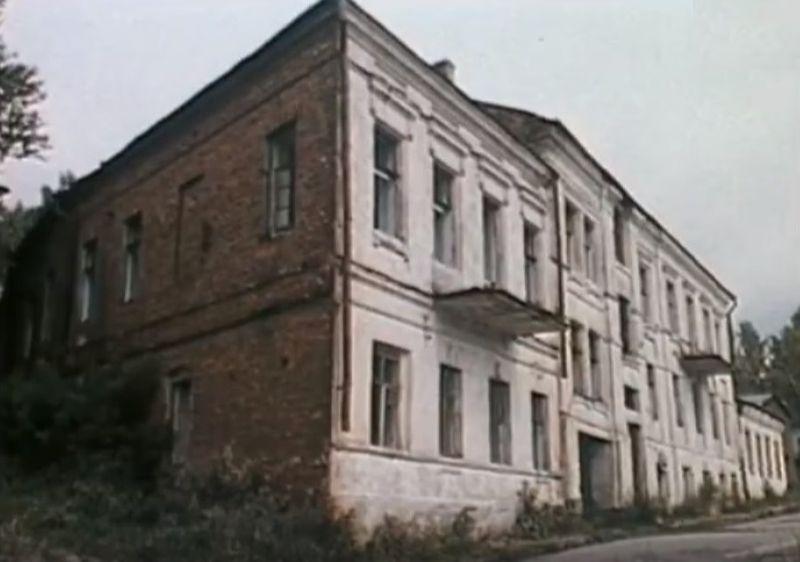 1987 год. Заброшенный дом на улице Толстого