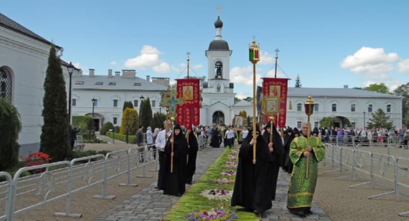 Крестный ход в Полоцке проходит ежегодно