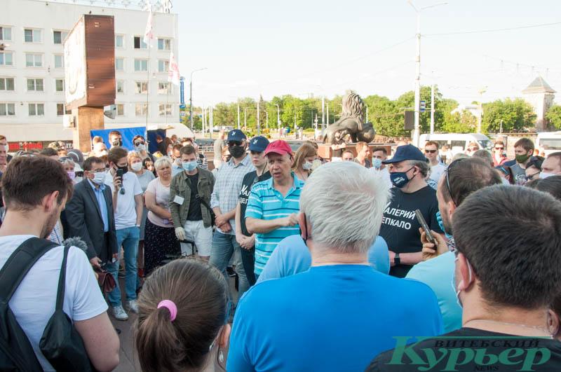 Валерий Цепкало выступил в Витебске