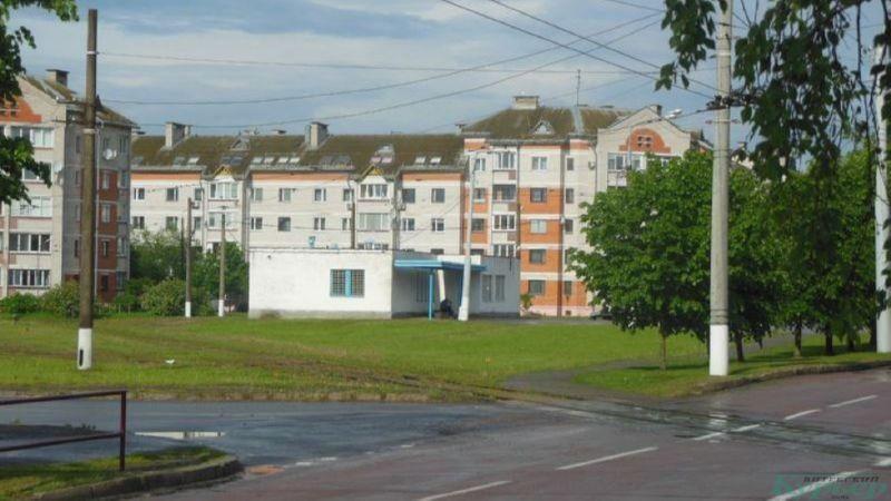 Диспетчерская на трамвайном кольце на проспекте Фрунзе