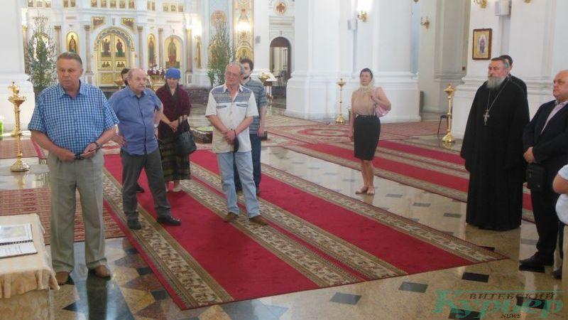 Участники обсуждения проекта Софийского собора в Витебске