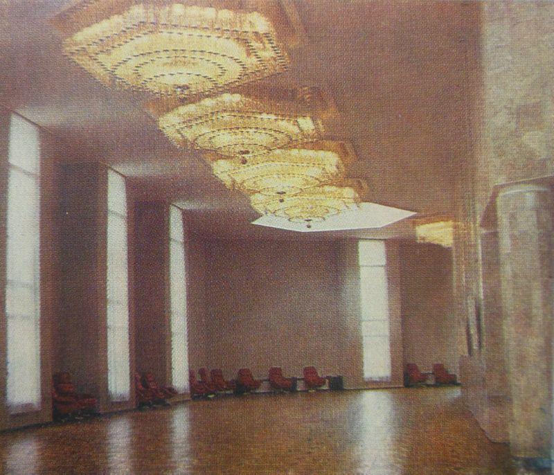 1991 год. ДК легкой промышленности. Интерьер