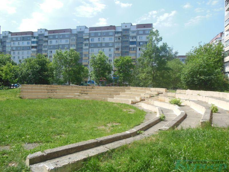Двор дома № 31 по улице Чкалова