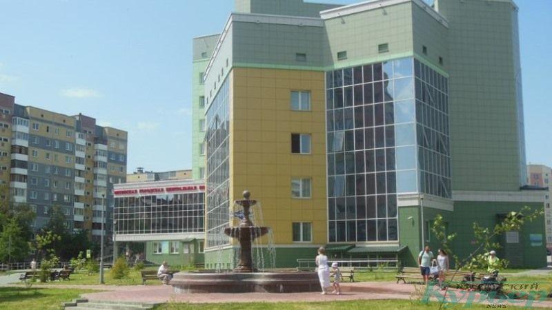Витебская городская центральная поликлиника на Генерала Марлелова