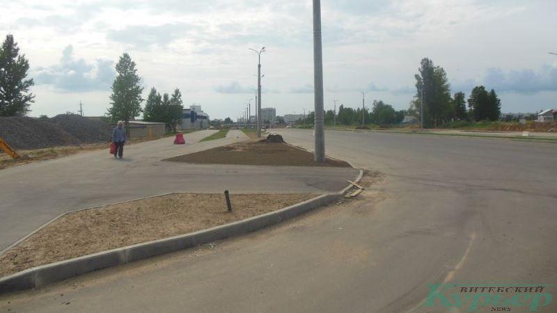 Пешеходная дорожка на южной стороне магистрали