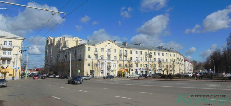 Вид на улицу Горовца с улицы Ленина