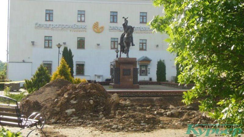 Площадка у Ольгерда