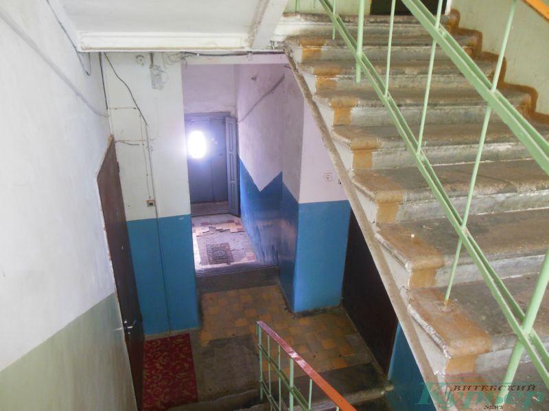 Проходной подъезд 4-го коммунального дома