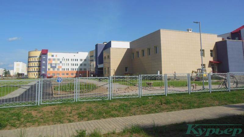 Ограда школы в Билево-2