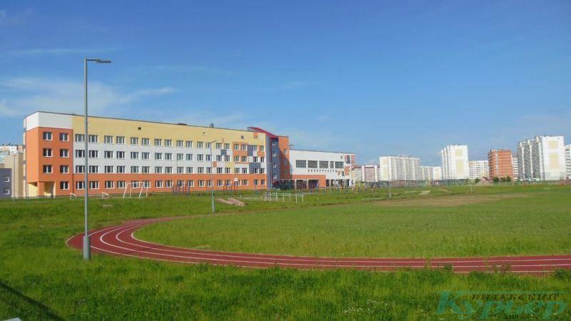 Стадион у школы в Билево-2