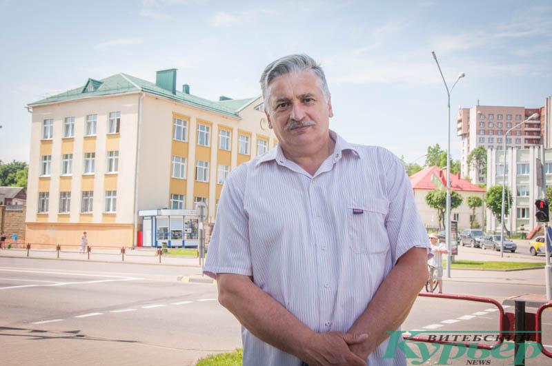 Игорь Гришанов, активист из Оршанского района
