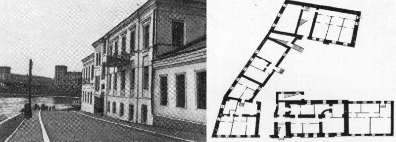План домов №№ 13 и 15 по улице Толстого