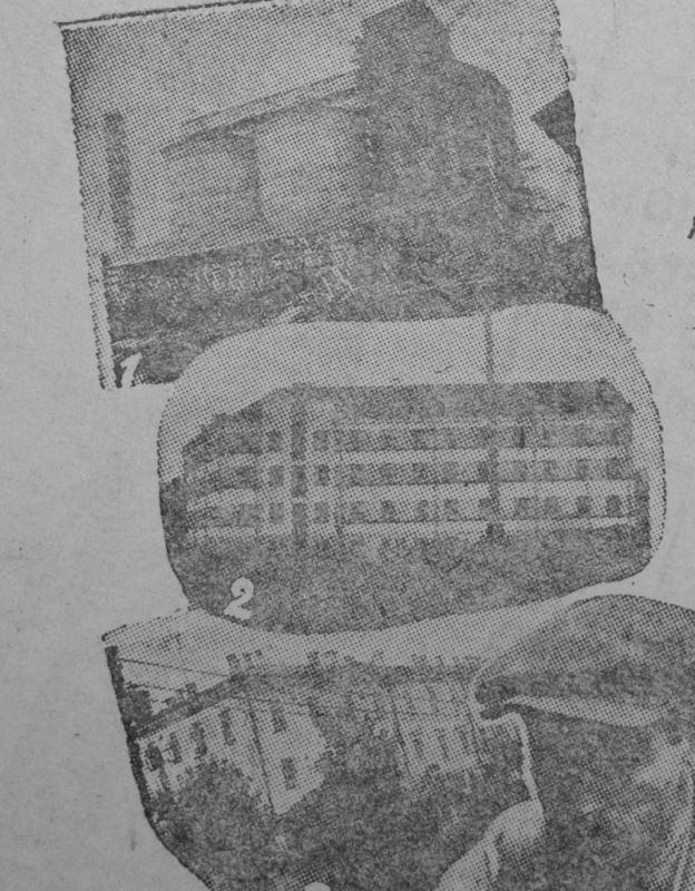1931 год. Новая баня на берегу Двины