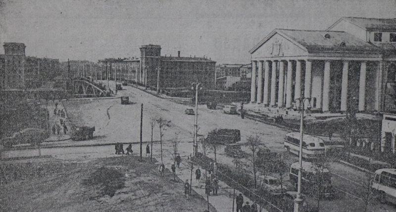 1963 год. Театральная площадь
