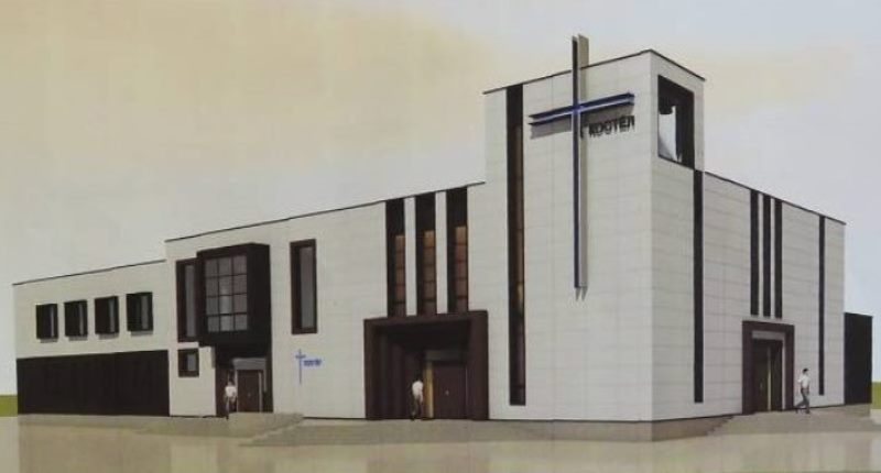 Проект костела Игнатия Лойолы