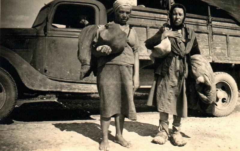 Мирные жители в годы войны