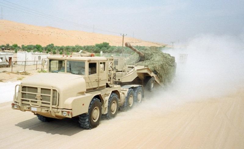 Танковозы в Арабских Эмиратах