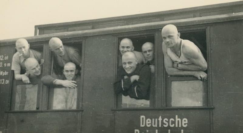 Немецкие солдаты в Витебске